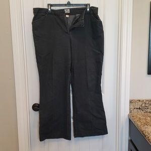 Plus size Women's dress denim slacks